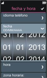 Nokia Asha 311 - Primeros pasos - Activar el equipo - Paso 5