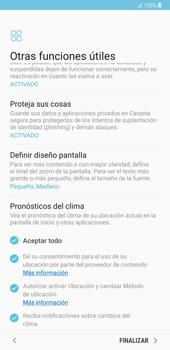 Samsung Galaxy Note 8 - Primeros pasos - Activar el equipo - Paso 18