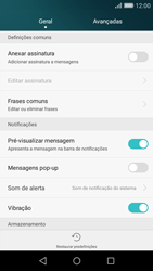 Huawei P8 Lite - SMS - Como configurar o centro de mensagens -  5
