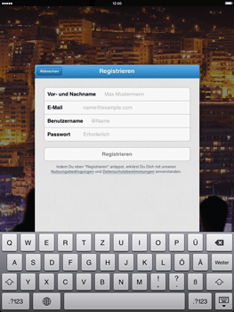 how to change email address on twitter ipad