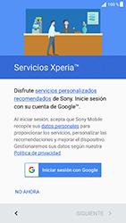 Sony Xperia XZ - Android Nougat - Primeros pasos - Activar el equipo - Paso 15