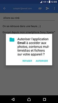 Sony Xperia XA1 Ultra - E-mails - Envoyer un e-mail - Étape 11