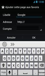 Acer Liquid Glow E330 - Internet - Navigation sur Internet - Étape 7