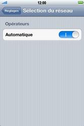 Apple iPhone 4 S - Réseau - utilisation à l'étranger - Étape 7