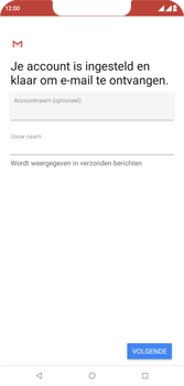 Wiko View 2 Plus - E-mail - e-mail instellen (outlook) - Stap 11