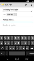 Motorola Moto X (2ª Gen) - E-mail - Escribir y enviar un correo electrónico - Paso 8