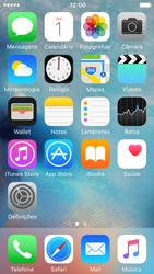 Apple iPhone 5s iOS 9 - Chamadas - Como bloquear chamadas de um número -  2