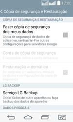 LG D295 G2 Lite - Funções básicas - Como restaurar as configurações originais do seu aparelho - Etapa 8