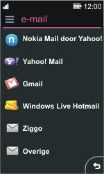 Nokia Asha 311 - E-mail - e-mail instellen: IMAP (aanbevolen) - Stap 6