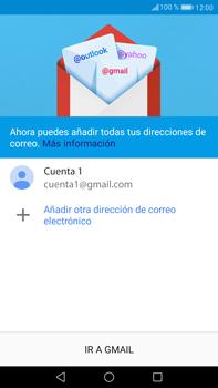 Huawei Mate 9 - E-mail - Configurar Gmail - Paso 14