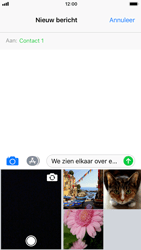 Apple iPhone 7 iOS 11 - MMS - hoe te versturen - Stap 9