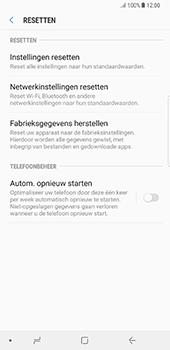 Samsung Galaxy Note 8 (N950) - Resetten - Fabrieksinstellingen terugzetten - Stap 6