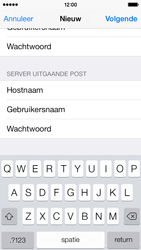 Apple iPhone 5c iOS 8 - E-mail - Account instellen (IMAP met SMTP-verificatie) - Stap 14
