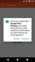 Sony Xperia XZ1 - Photos, vidéos, musique - Ecouter de la musique - Étape 5