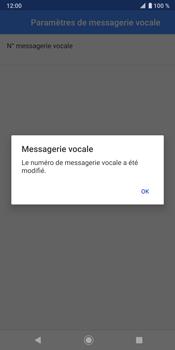 Sony Xperia XZ3 - Messagerie vocale - configuration manuelle - Étape 12