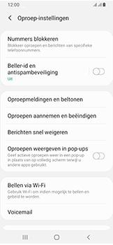 Samsung Galaxy A40 - Voicemail - handmatig instellen - Stap 9