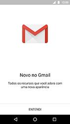 Motorola Moto X4 - Email - Como configurar seu celular para receber e enviar e-mails - Etapa 4
