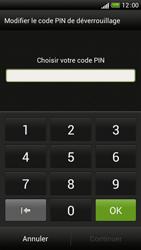 HTC One S - Sécuriser votre mobile - Activer le code de verrouillage - Étape 7