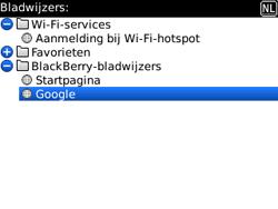 BlackBerry 9300 Curve 3G - Internet - hoe te internetten - Stap 8