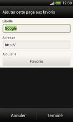 HTC T328e Desire X - Internet - Navigation sur Internet - Étape 6