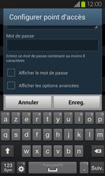 Samsung Galaxy S2 - Internet et connexion - Partager votre connexion en Wi-Fi - Étape 9