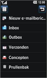 LG GD510 Pop - E-mail - E-mails verzenden - Stap 5