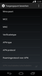 Motorola Moto G (1st Gen) (Kitkat) - Internet - handmatig instellen - Stap 13