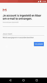 Android One GM5Plus DS - E-mail - handmatig instellen (yahoo) - Stap 12