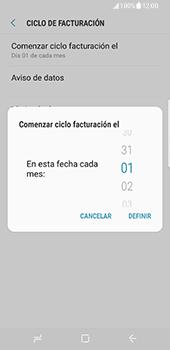 Samsung Galaxy S8 - Internet - Ver uso de datos - Paso 8