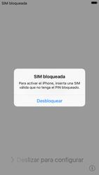 Apple iPhone 6s iOS 9 - Primeros pasos - Activar el equipo - Paso 3