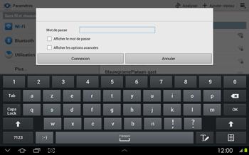 Samsung P5100 Galaxy Tab 2 10-1 - Wifi - configuration manuelle - Étape 5