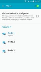 Samsung Galaxy S4 LTE - Wi-Fi - Como ligar a uma rede Wi-Fi -  8