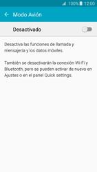 Samsung Galaxy A3 (2016) - Funciones básicas - Activar o desactivar el modo avión - Paso 5