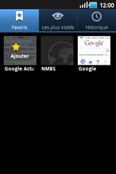 Samsung S5660 Galaxy Gio - Internet - navigation sur Internet - Étape 10