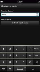 BlackBerry Z30 - Messagerie vocale - Configuration manuelle - Étape 8