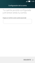 Huawei Y5 - E-mail - Configurar Outlook.com - Paso 12