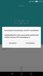 Huawei Nova - Netwerk - Software updates installeren - Stap 7