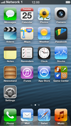 Apple iPhone 5 - Network - Manually select a network - Step 7