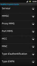 Sony ST25i Xperia U - MMS - Configuration manuelle - Étape 10