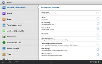 Samsung P7500 Galaxy Tab 10-1 - MMS - Manual configuration - Step 4