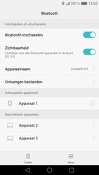Huawei P9 (Model EVA-L09) - Bluetooth - Headset, carkit verbinding - Stap 8