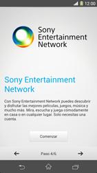 Sony Xperia Z1 - Primeros pasos - Activar el equipo - Paso 7