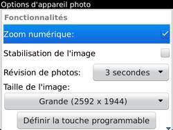 BlackBerry 9720 - Photos, vidéos, musique - Prendre une photo - Étape 8