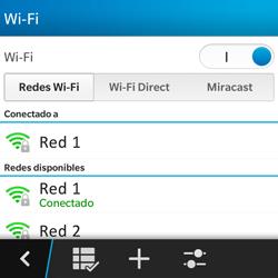 BlackBerry Q5 - WiFi - Conectarse a una red WiFi - Paso 9