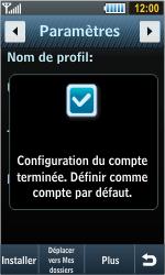 Samsung S8000 Jet - Internet - configuration automatique - Étape 7