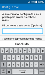 Samsung Galaxy Ace 4 - Email - Adicionar conta de email -  9