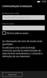 Nokia Lumia 625 - Email - Configurar a conta de Email -  9