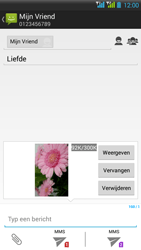 HTC Desire 516 - MMS - Afbeeldingen verzenden - Stap 17