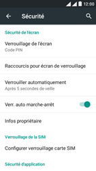 Wiko Rainbow Lite 4G - Sécuriser votre mobile - Activer le code de verrouillage - Étape 12