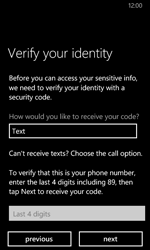 Nokia Lumia 635 - Applications - Create an account - Step 23